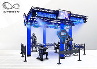 220V 9D Virtual Reality Walking Platform Multiplayer Interactive VR Shooting Games 협력 업체